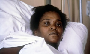 Cherry Groce in hospital after she was shot by police